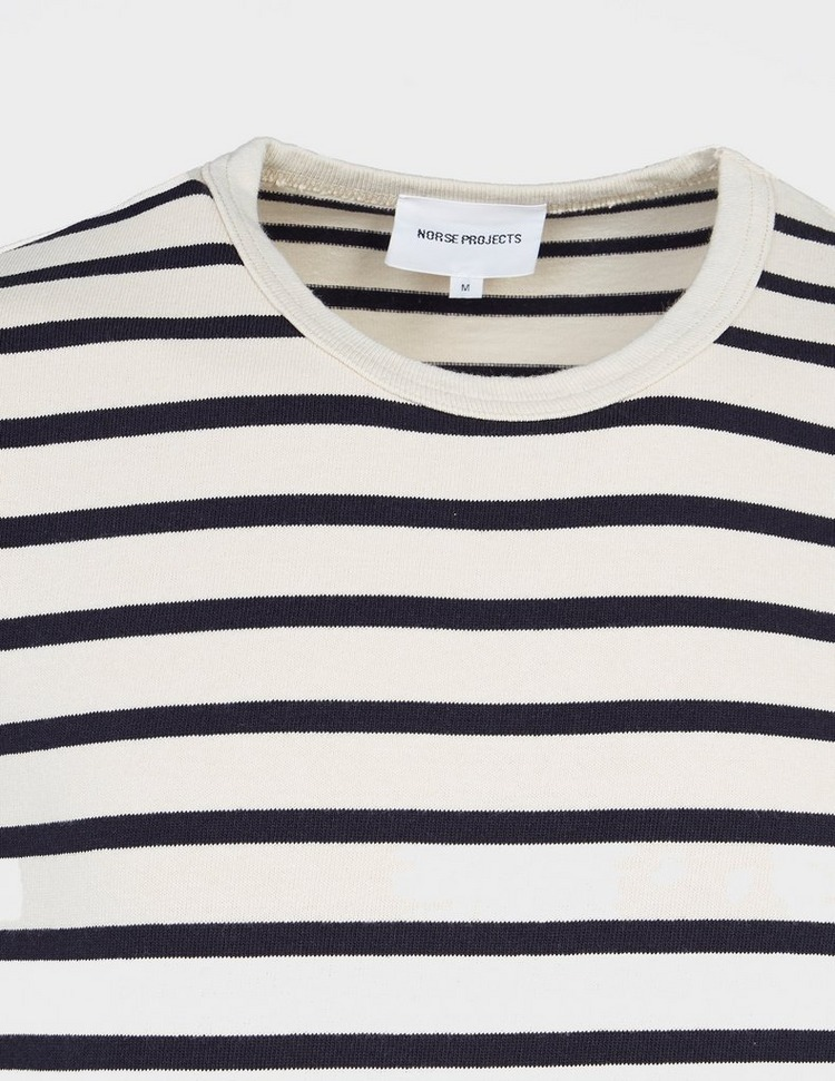 Norse Projects Holger Compact Cotton Bold Stripe T-Shirt