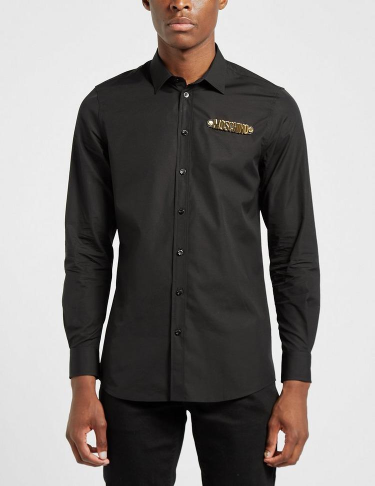Moschino Gold Letter Shirt