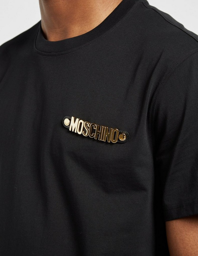 Moschino Gold Letter T-Shirt