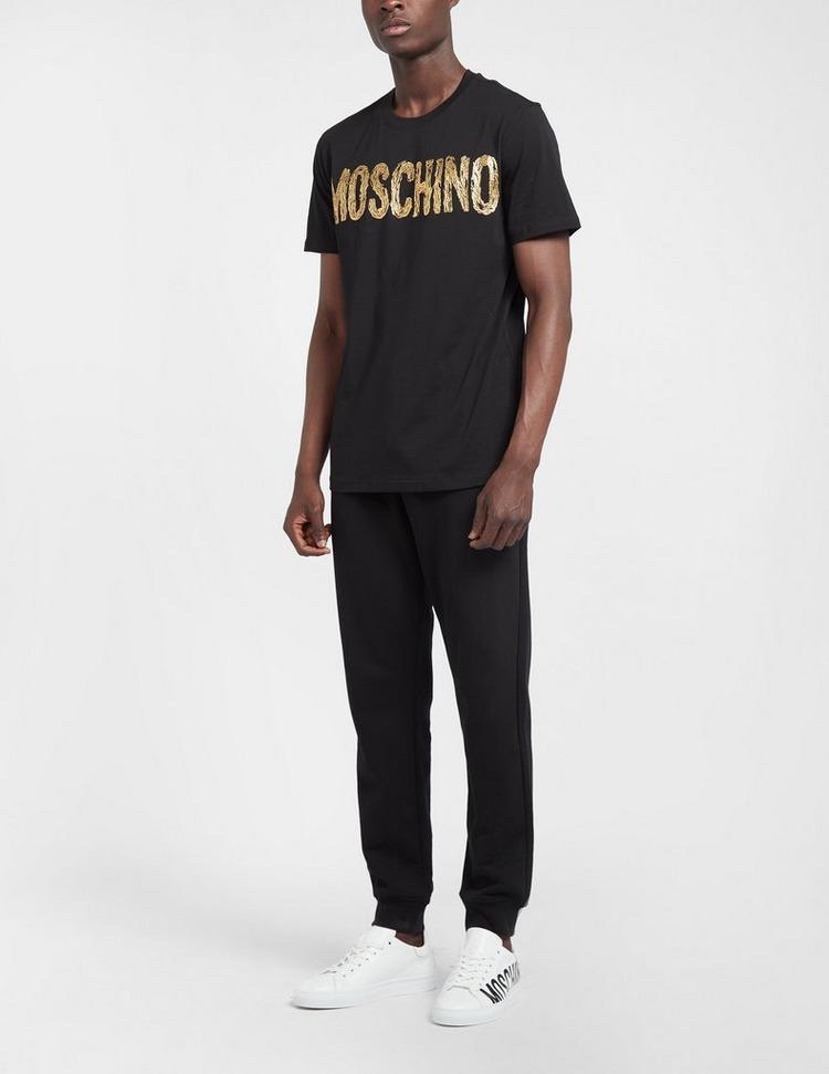 Moschino Painted Logo T-Shirt