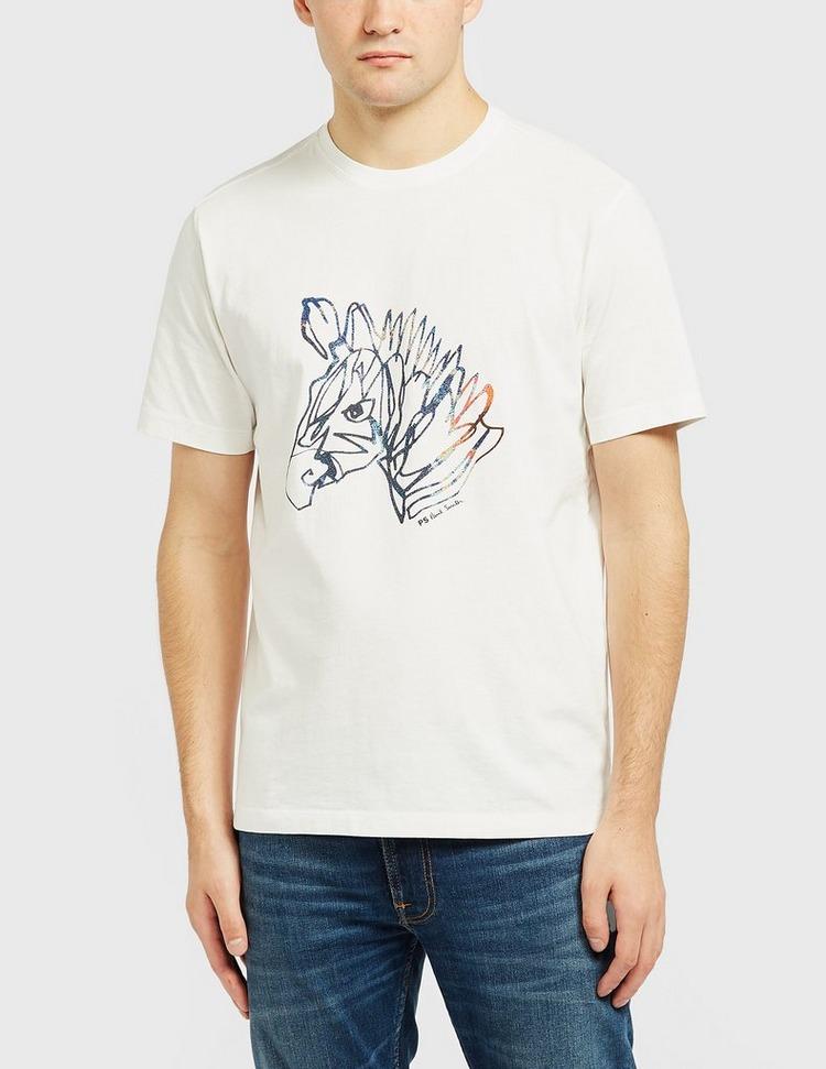 PS Paul Smith Zebra Head T-Shirt