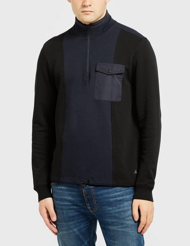 PS Paul Smith Mix Media Block Sweatshirt