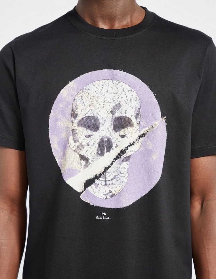 PS Paul Smith Rip Skull T-Shirt