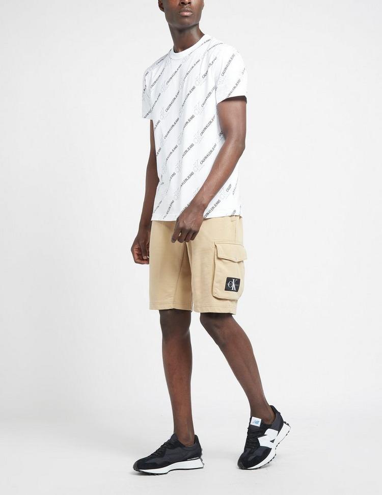 Calvin Klein Jeans Monogram Badge Fleece Shorts