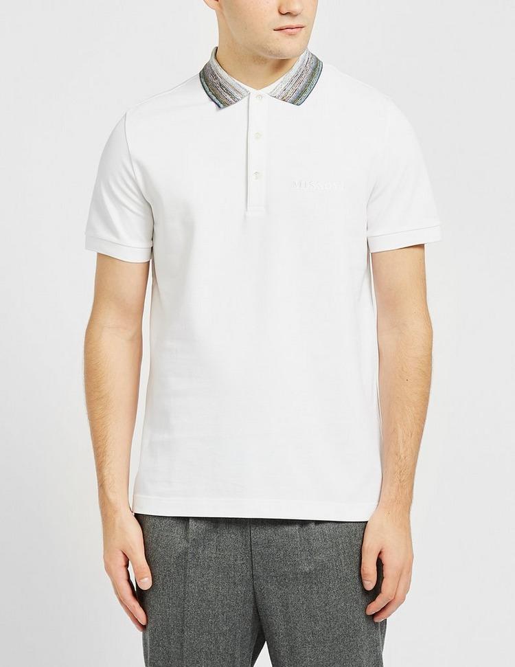 Missoni Space Dye Collar Polo Shirt
