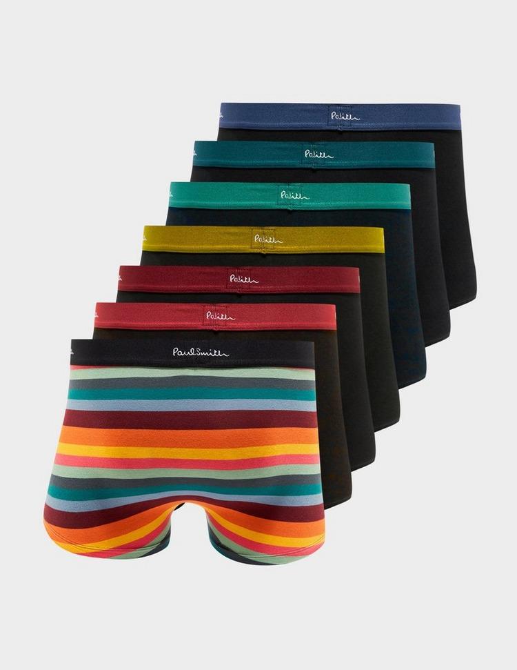 PS Paul Smith 7 Pack Artist Stripe Trunks
