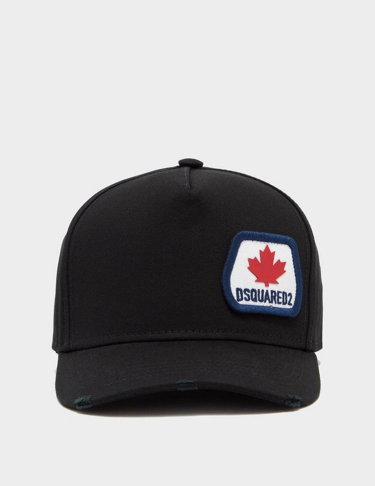 Dsquared2 Maple Leaf Logo Cap