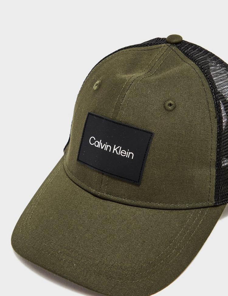 Calvin Klein Patch Trucker Cap