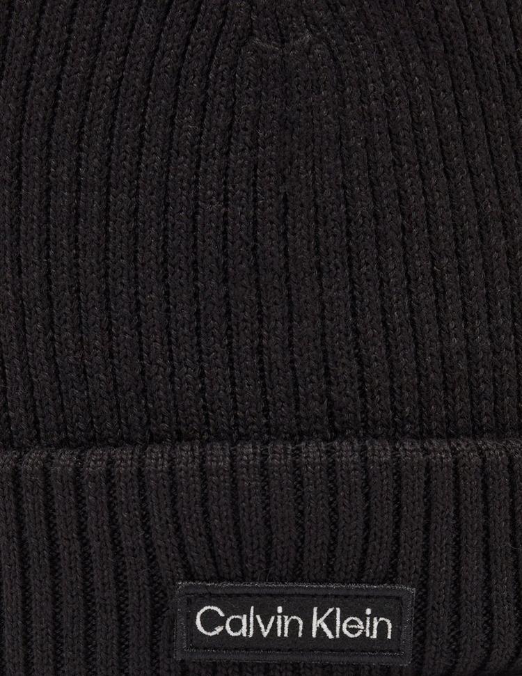Calvin Klein Patch Logo Beanie