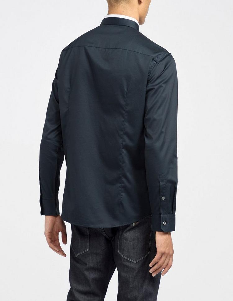 Emporio Armani Tipped Collar Shirt