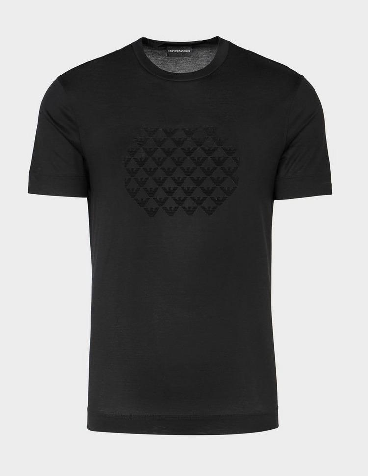 Emporio Armani Multi Eagle Flock T-Shirt