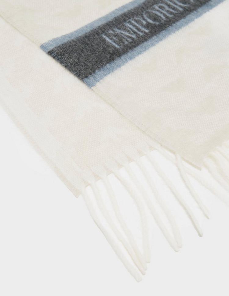 Emporio Armani Eagle Print Scarf