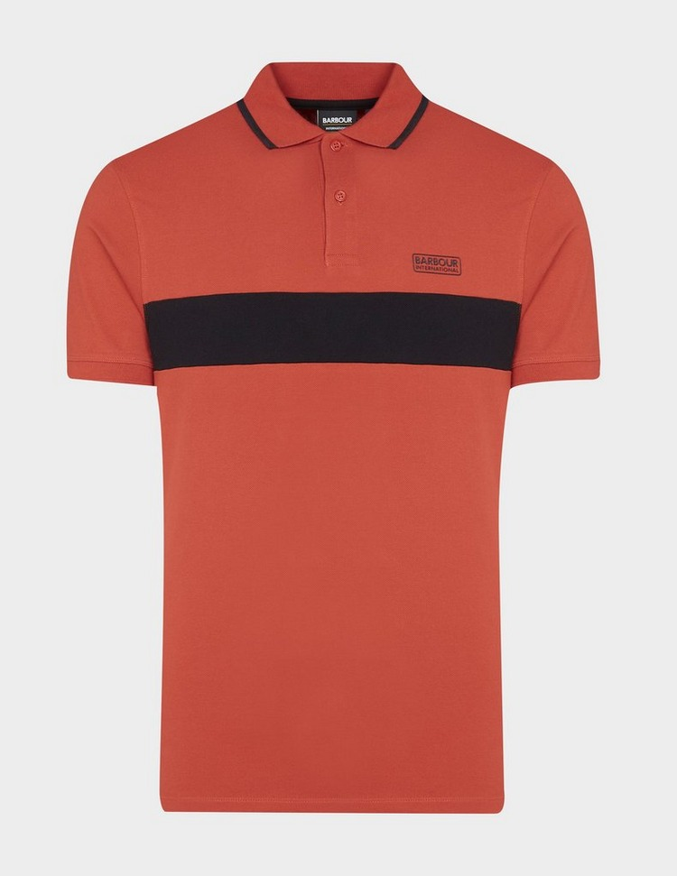 Barbour International Block Stripe Polo Shirt