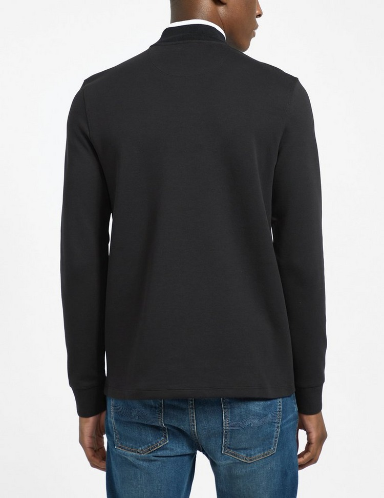 Barbour International Tipped Quarter Zip Sweatshirt