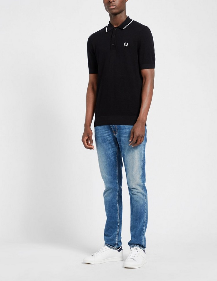 Fred Perry Tipped Knit Polo Shirt