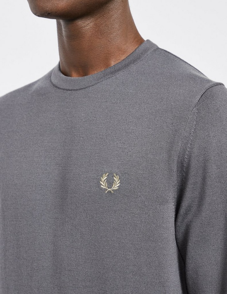 Fred Perry Crew Knitted Sweatshirt