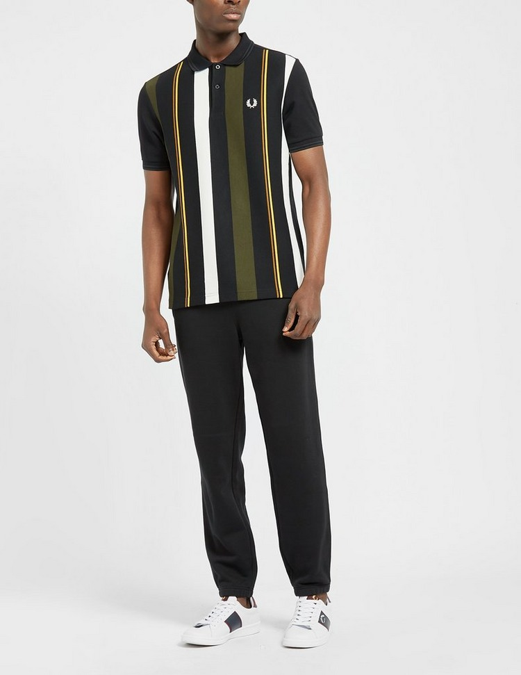 Fred Perry Vertical Stripe Polo Shirt