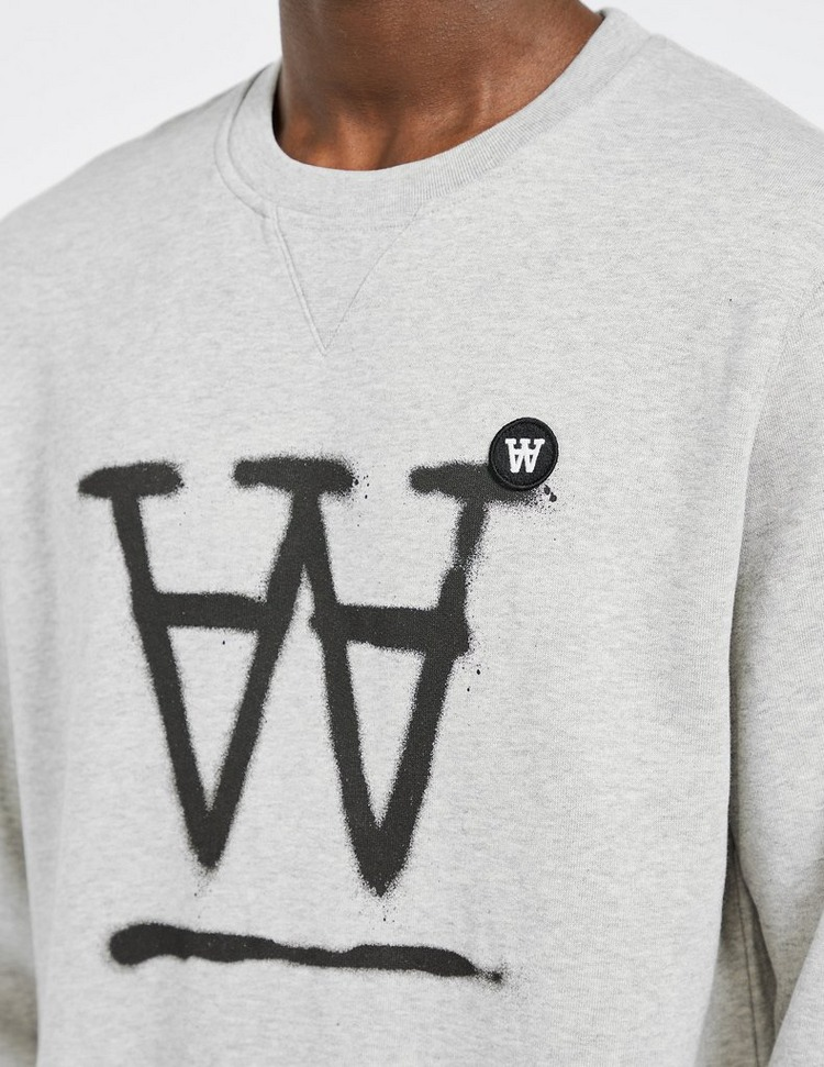 Wood Wood Tye Spray Sweatshirt