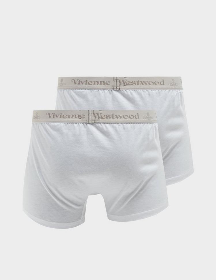 Vivienne Westwood 2 Pack Logo Waistband Trunks