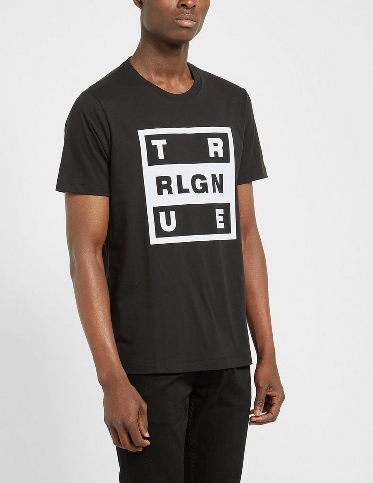 True Religion Square Flock T-Shirt