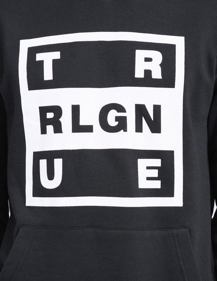 True Religion Square Flock Hoodie