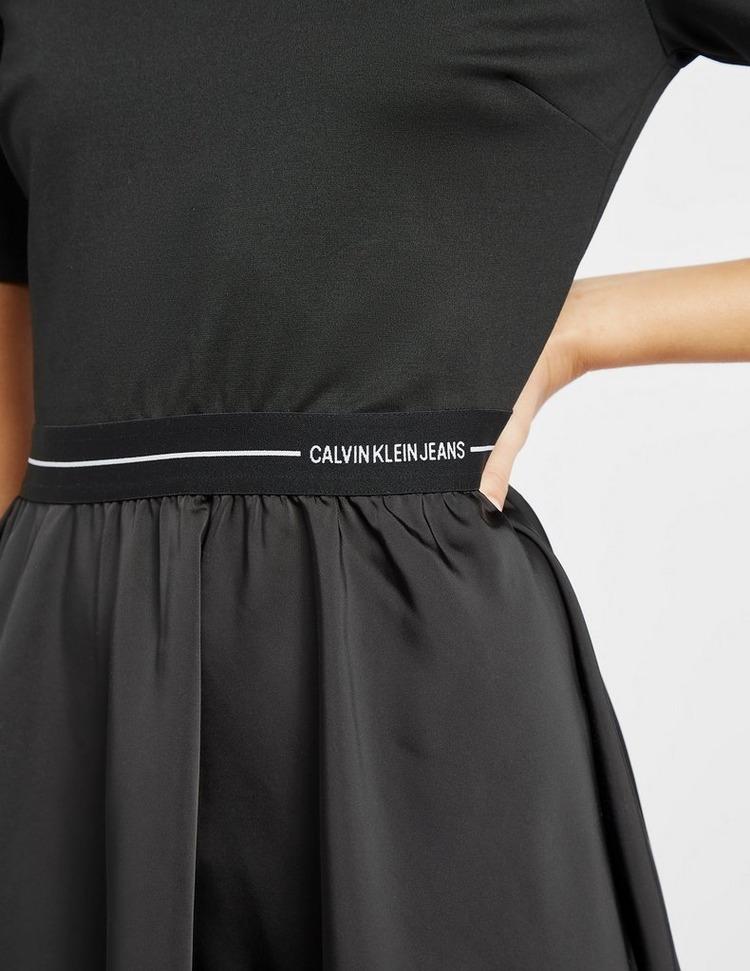 Calvin Klein Jeans Logo Waist Dress