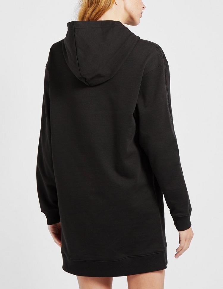 Calvin Klein Jeans Logo Trim Hooded Dress