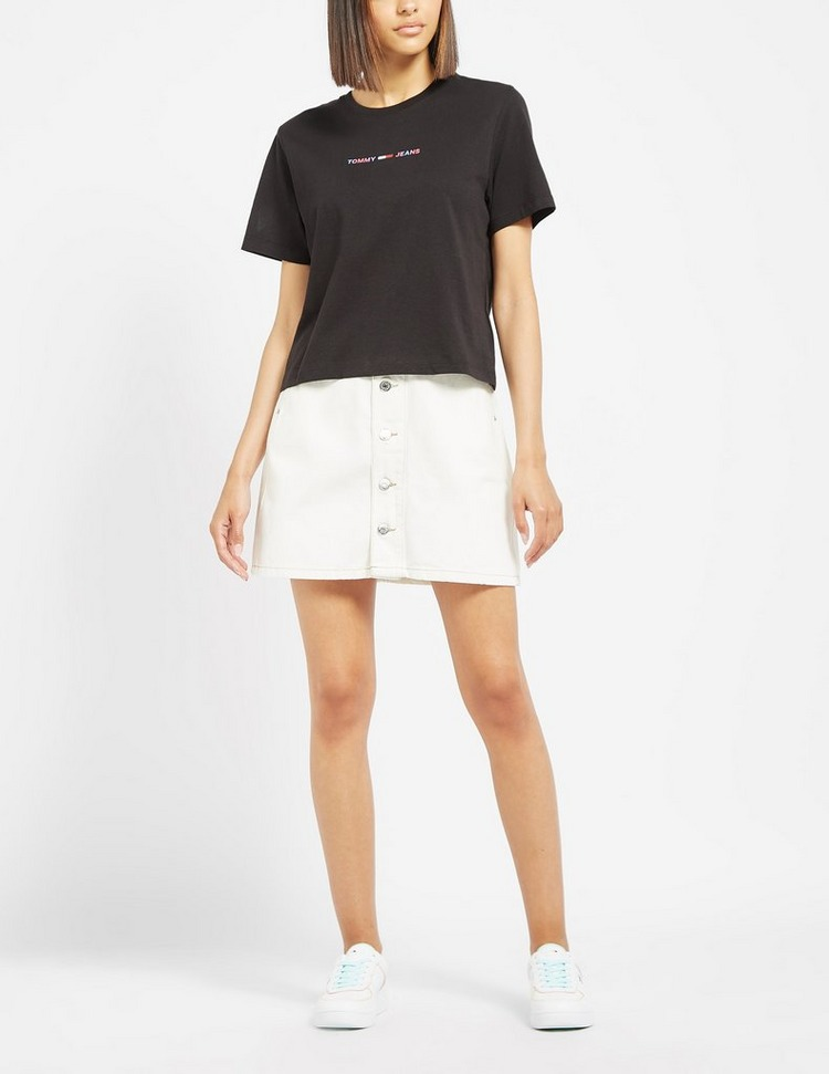 Tommy Jeans Linear Crop T-Shirt