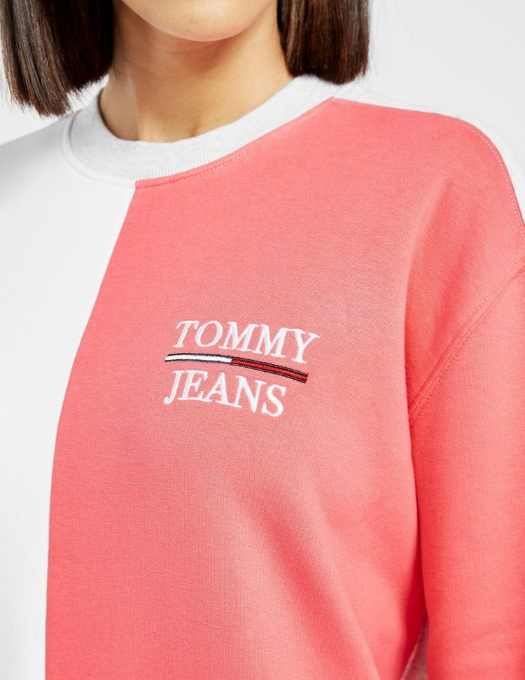 Tommy Jeans Colour Block Sweater Dress