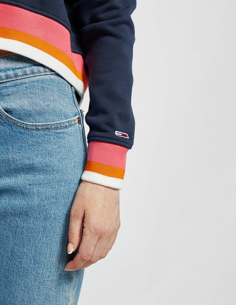 Tommy Jeans Tipping Cropped Sweatshirt