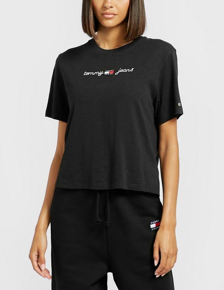 Tommy Jeans Home Spun Crop T-Shirt
