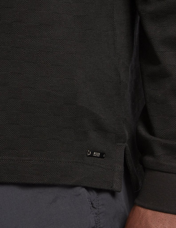 BOSS Preston Zip Polo Shirt