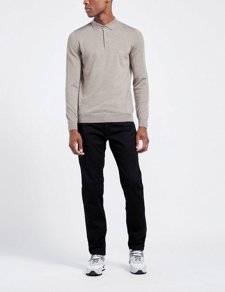 BOSS Bono Knitted Polo Shirt