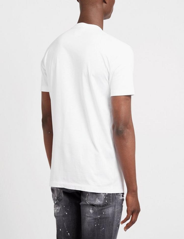 Dsquared2 Tag Maple Leaf Logo T-Shirt