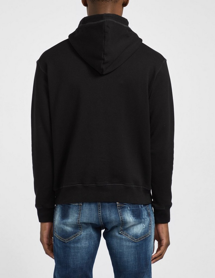 Dsquared2 Paint Text Hoodie