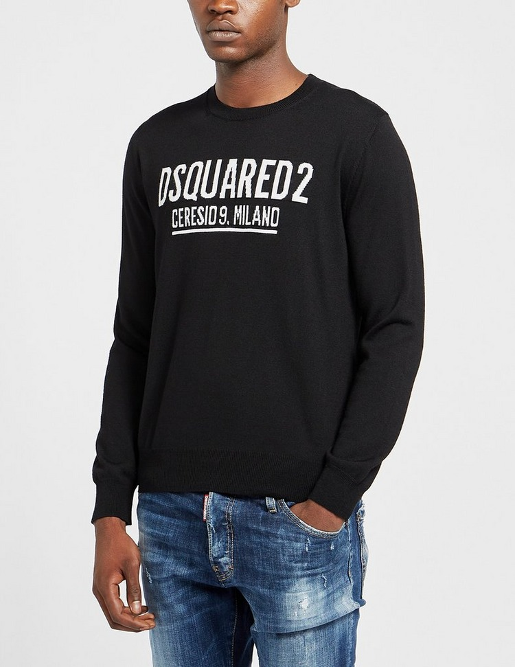 Dsquared2 Ceresio9 Knitted Sweatshirt