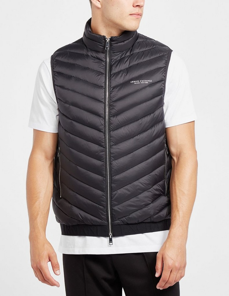Armani Exchange Quilted Gilet