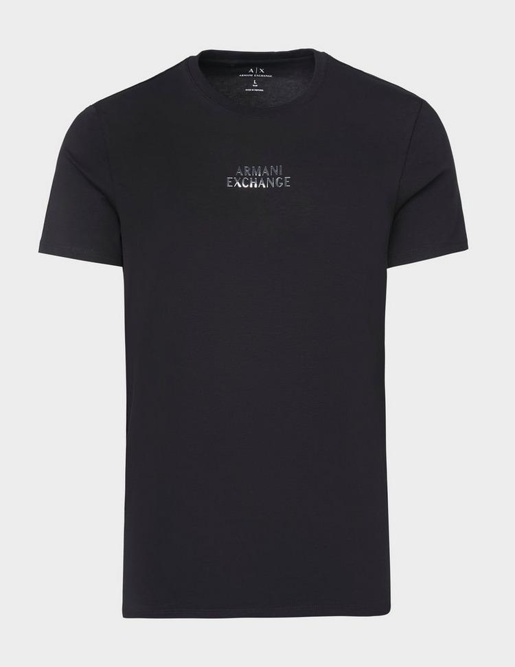 Armani Exchange Central Metal Logo T-Shirt