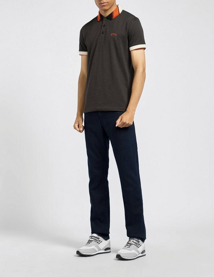 BOSS Paule Collar Stripe Polo Shirt