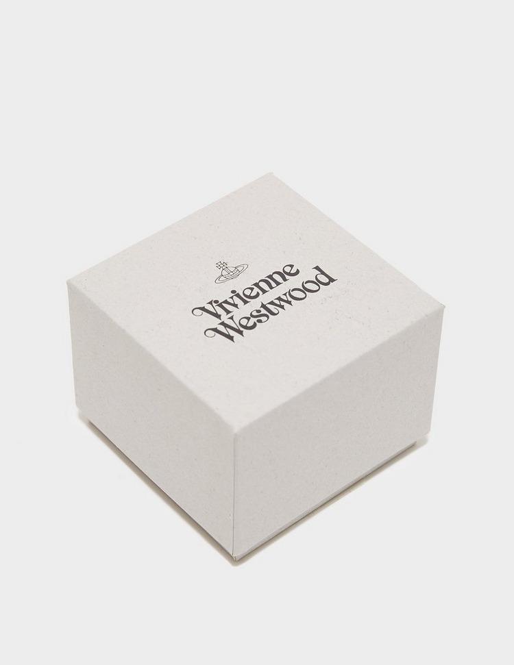 Vivienne Westwood Francette Brass Stud Earrings