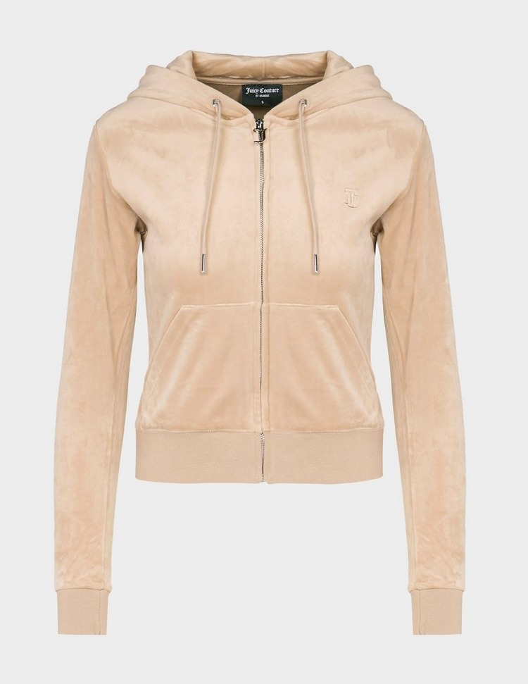 JUICY COUTURE Robertson Embroidered Zip Hoodie