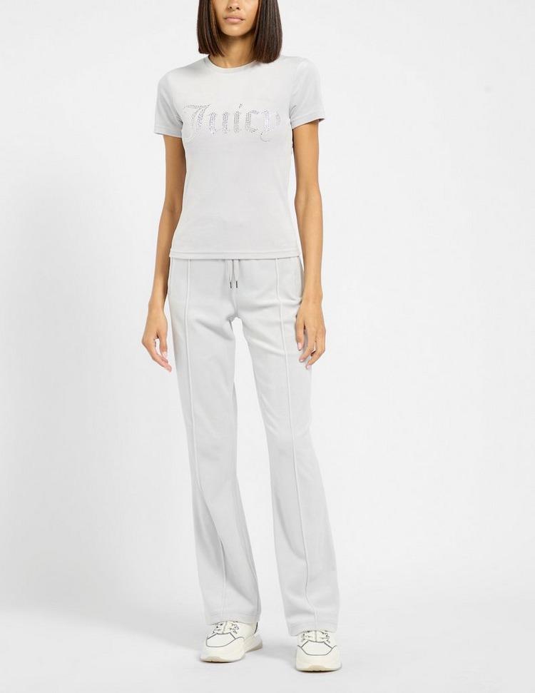JUICY COUTURE Taylor Velour Diamante T-Shirt