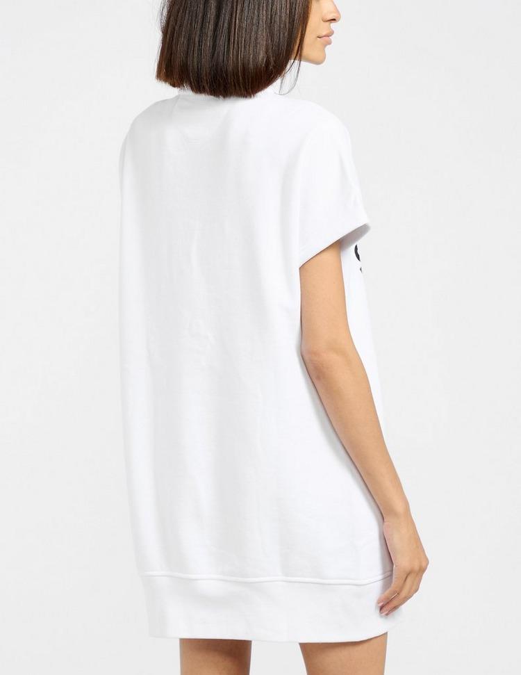 DKNY Logo 1/4 Zip Dress