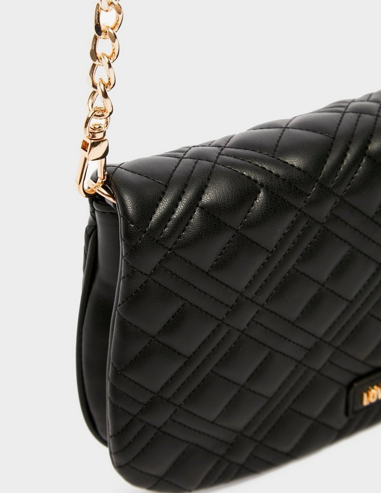 Love Moschino Quilted Chain Cross Body Bag
