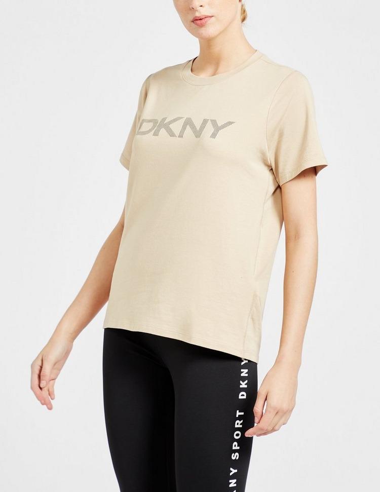 DKNY Stripe Logo T-Shirt