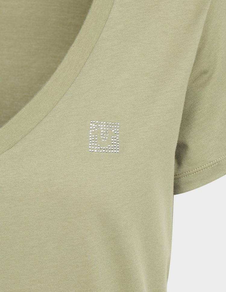 True Religion Crystal V-Neck T-Shirt