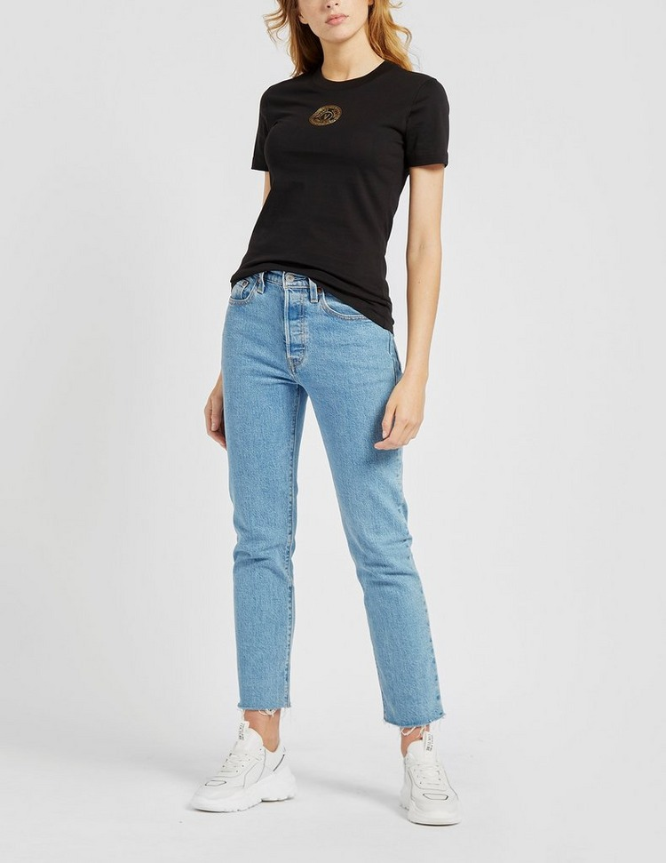 Versace Jeans Couture Small Round Logo T-Shirt