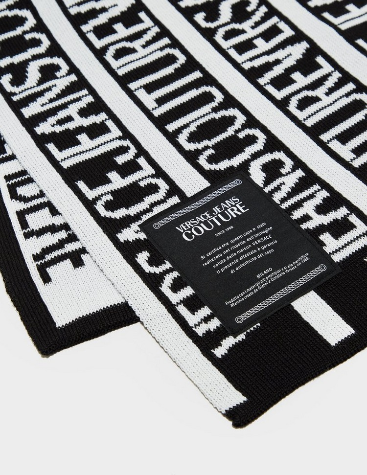 Versace Jeans Couture Logo Wool Scarf