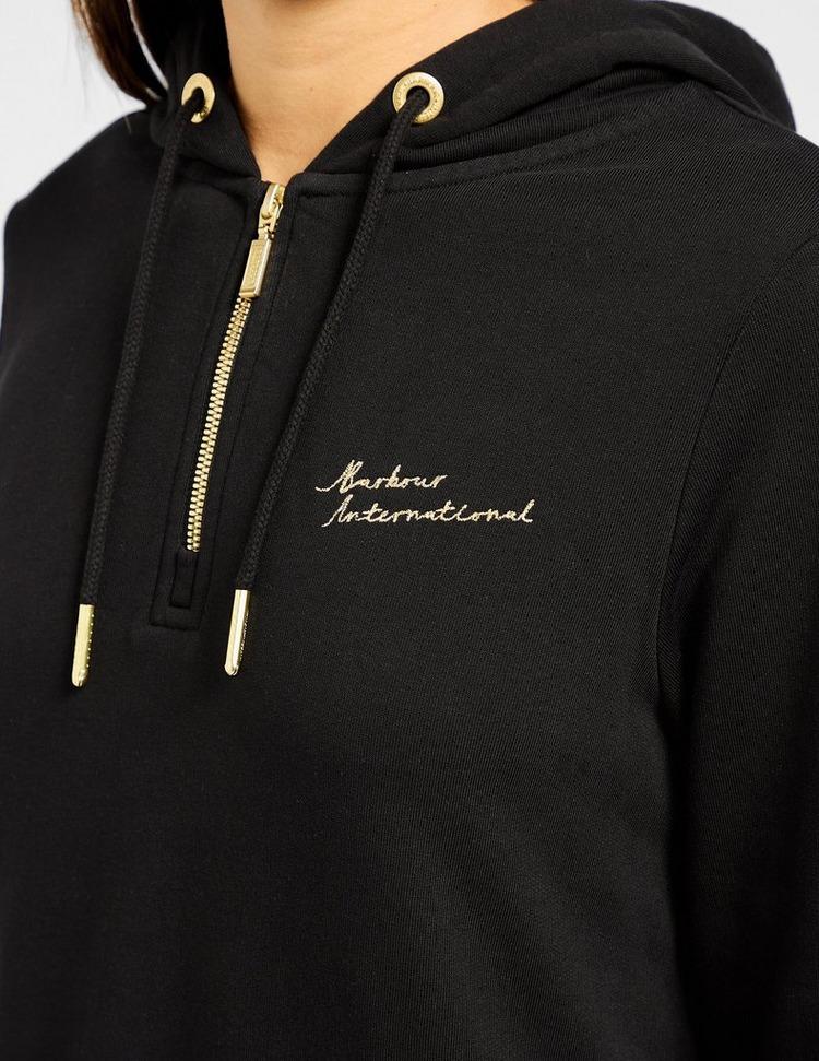 Barbour International Zip Hooded Dress