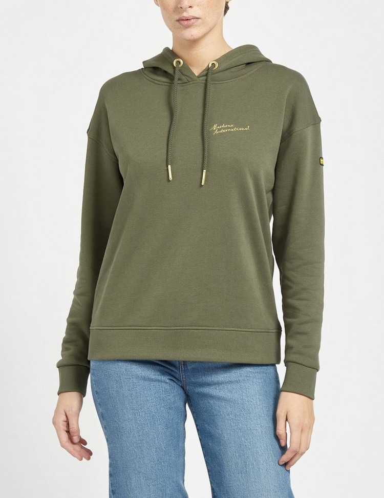 Barbour International Chequer Hoodie